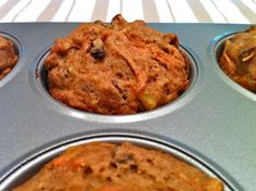 The Fountain Avenue Kitchen – Heavenly (and Healthy) Carrot Cake Muffins — gluten free option