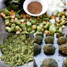 Falafel de Garbanzos y Habas/Chickpea and Fava Bean Falafel
