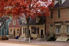 Colonial Williamsburg.  Well I've been there and work really close but it's beautiful so I want to visit on a regular basis.  Hoping to see the 4th July fireworks there tonight!