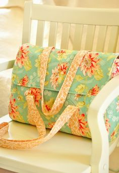 One Piece Bag featuring Honeysweet by Fig Tree Quilts