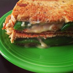 Get the creaminess of a grilled cheese and the kick of a jalapeño popper in this one-of-a-kind sandwich! Can you handle the heat?