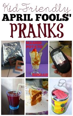 Kid-Friendly April Fools' Day Pranks