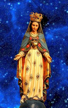 Blessed Virgin Mary, Queen of the World | Flickr - Photo Sharing!