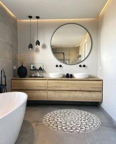 Bathroom Design Luxury, Modern Bathroom, Home Interior Design, Small Bathroom, Upstairs Bathrooms, Laundry In Bathroom, Beautiful Bathrooms, Home Decor Kitchen, Bathroom Inspiration
