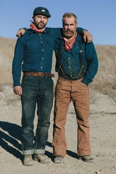 farhadsamari: Farhad Samari & Cory Piehowicz in the desert