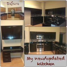 We updated our kitchen with General Finishes Java gel stain. Awesome product and the results are amazing!