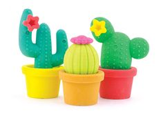 International Arrivals Prickly Pals Cactus Erasers | Buy Pool & Spa Supplies, Sporting Goods, & Specialty Toys | Anglo Dutch Pools and Toys