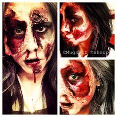 Easy Latex Zombie Makeup!