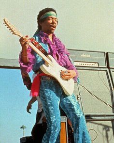 Jimi Hendrix - the left-handed genius that I first started to base my style off of, and still most often emulate today.