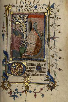 Fol. 107. La Descente aux Enfers, Petites heures de la Croix, XVe siècle - Musée du Pays d'Ussel. http://www.bn-limousin.fr/items/show/99