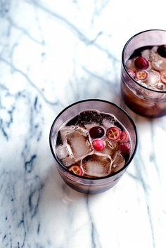 Cranberry Kombucha Cocktail