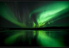 ...to see the Aurora Borealis