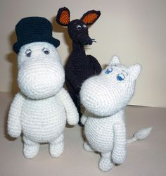 "Photo from album ""Амигуруми"" on Yandex. Diy Crochet, Crochet Toys, Tove Jansson, Eco Friendly Toys, Baby Comforter, Amigurumi Toys, Crochet Animals, Stuffed Toys Patterns, Handmade Toys"