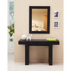 Furniture of America Perry Modern Black Finish Sofa Table - Overstock™ Shopping - Great Deals  sc 1 st  Pinterest & Shop for Furniture of America Perry Modern Black Finish Sofa Table ...