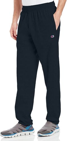 Champion Men's Closed Bottom Light Weight Jersey Sweatpant Sale price$55.00 Regular price$83.00 #aerobicsnexthopeyallready #aerobicsgymnastics #aerobicsinstructor #aerobicgymnastics Mens Slim Joggers, Fleece Joggers, Jogger Pants, Winter Outfits Men, Outfits For Teens, Teen Clothing Stores, Compression Pants, Business Casual Men