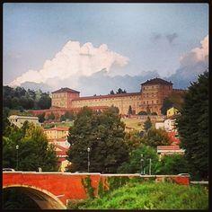 Moncalieri, Mountains, Torino , skyline, citta? , Town , fiume Po, Bridge,