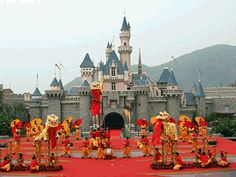 Hong Kong Disneyland - Crossing Disney #4 off my list. Only 1 more to go, Tokyo!