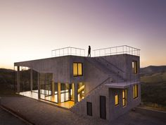 Stunning Modern House in Brazil Offers Rooftop Pool and Incredible Views - Curbed