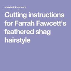 farrah fawcett haircut diagram farrah fawcett haircut and styling instructions! woohoo ... #4
