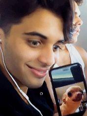 """ Erick enjoying his meme while Joel is dying the backround "" Erick Brian Colon Instagram, Erik Brian Colon, Reaction Pictures, Funny Pictures, Brian Christopher, Memes Cnco, 3 I, Funny Faces, Funny Moments"