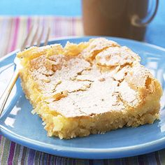OOey Gooey Butter Cake-The cream cheese filling makes this rich and buttery dessert stand out among other cake recipes. I love this recipe but it was on the rich side. I have fixed this a number of times for functions.