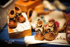 1.5cm 焦茶色筒靴
