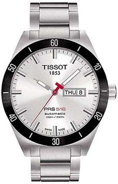 T044.430.21.031.00, T0444302103100, Tissot prs 516 automatic watch, mens