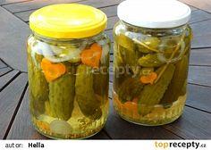 Kukuřičky ve sladkokyselém nálevu 20 Min, Pickles, Cucumber, Mason Jars, Canning, Food, Ds, Meal, Essen