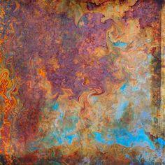 rust wall Art Grunge, Wall Murals, Wall Art, Distressed Walls, Copper Wall, Rusty Metal, Faux Painting, Paint Effects, Foto Art