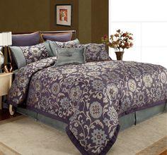 Home Fashions International Rachel 8 Piece Comforter Set 115$