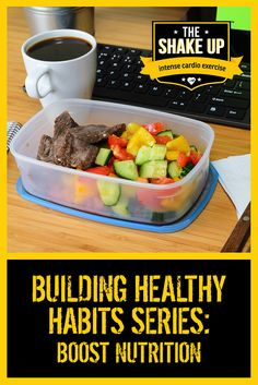 Are you getting the #nutrition you need to meet your health and #fitness goals?  You may be surprised how easy it can be to boost your nutrition if you are organised. #fitness  #goals http://theshakeup.com.au/food-nutrition/building-healthy-habits-boosting-nutrition/