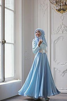 5 Model Busana Muslim Pesta Trend 2016