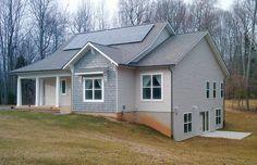 Net Zero Energy Homes: King George VA - J. Hall Homes, Inc - winner of 2010 EarthCraft Virginia Most Energy-Efficient Home of the Year Award