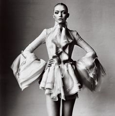 gemma ward by irving penn for vogue