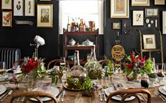 Best Autumn Themed Dining Room Table Centerpiece Ideas / Dining room inspirations / Dining room ideas / #diningroom #autumnfashion #autumn2016 Read more: http://diningroomideas.eu/best-autumn-themed-dining-room-table-centerpiece-ideas/