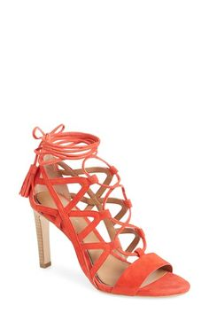 Elie Tahari 'Hurricane' Lace-Up Sandal (Women) available at #Nordstrom