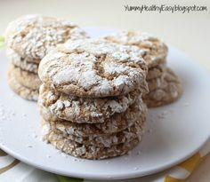 Easy {Low Fat} Cool Whip Cookies - Yummy Healthy Easy