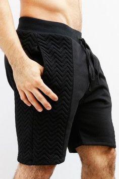 Casual White Stripe Elastic Waist Shorts Sport Gym Men Superior Performance Men's Clothing