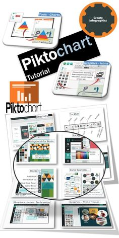 This is my favourite EdTech site right now! • Piktochart has an easy to use editor with drag and drop features that allows students and teachers to create infographics.