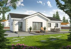 FOR SALE: Three bedroom detached bungalow (New Build) in Liskeard, Cornwall for £280,495.