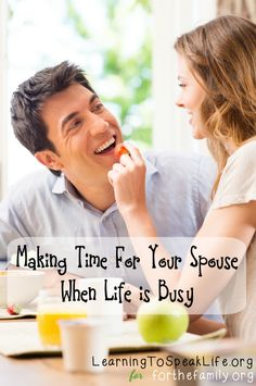 Are you feeling disconnected from your spouse? Don't miss these ways to connect when life is busy and make time for your spouse today!