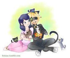 Resultado de imagem para Cat noir Anime wallpaper