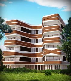 Residental building Bpd, Design Art, Multi Story Building, Studio, Studios