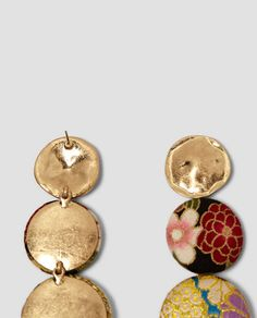 FABRIC-LINED EARRINGS-Jewellery-ACCESSORIES-WOMAN | ZARA United States