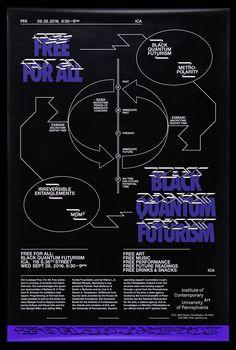 "yalegraphicdesign: "" David Rudnick (BA 2009; MFA 2016) Free for All: Black Quantum Futurism Wednesday, September 28, 6:30–9PM ICA Philadelphia, Philadelphia, PA """