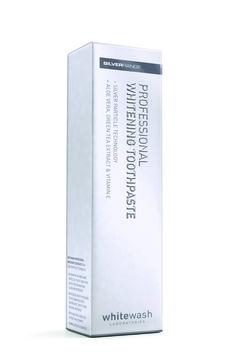 WhiteWash Professional Whitening - Wybielająca pasta do zębów z jonami srebra 125ml Sklep stomatologiczny Poznań - Szczoteczki elektryczne najtaniej!
