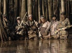 Duck Dynasty.. i would LOVE to be part of this gang!
