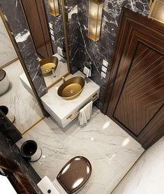 Modernes Luxusbad auf Behance - Anna Calliva - Mix Modern luxury bathroom on Behance - Anna Calliva Modern Luxury Bathroom, Luxury Master Bathrooms, Bathroom Design Luxury, Master Baths, Bath Design, Romantic Bathrooms, Minimalist Bathroom, Better Bathrooms, Luxurious Bathrooms