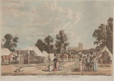 The Encampment in St. James's Park, 1780