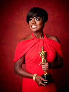 "Miss Davis always on top! ""89th Oscar Winner Portraits - Viola Davis photography """